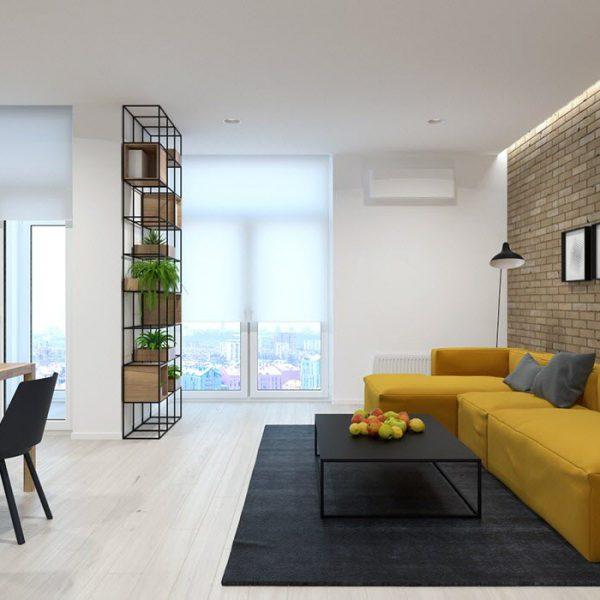دکوراسیون داخلی خانه 70 متری