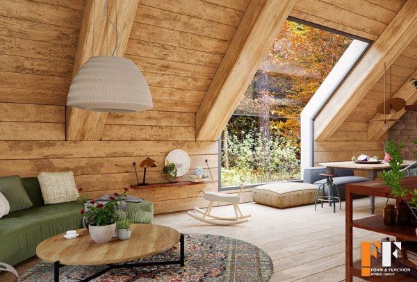 دکوراسیون داخلی چوبی سنتی
