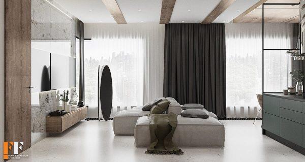 دکوراسیون داخلی آپارتمان 85 متری