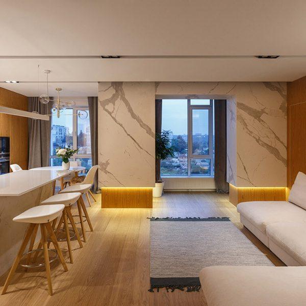 دکوراسیون داخلی منزل 85 متری