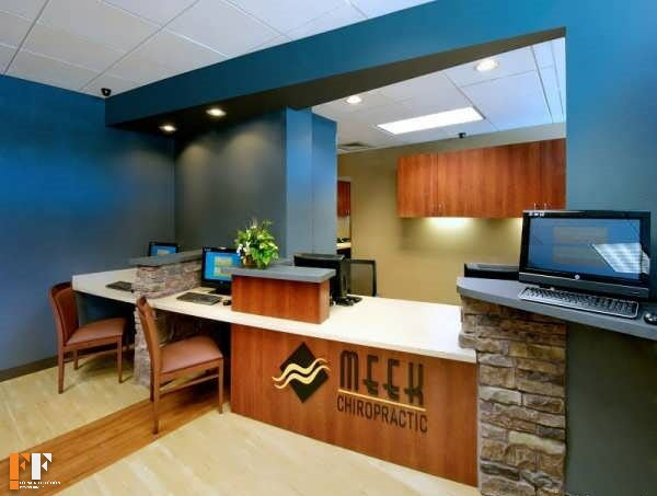 طراحیدکوراسیون داخلی مطب