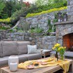 بازسازی داخلی حیاط ویلا