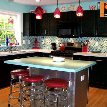 بازسازی داخلی آشپزخانه