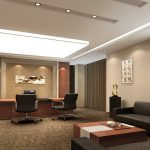 بازسازی داخلی اتاق مدیریت