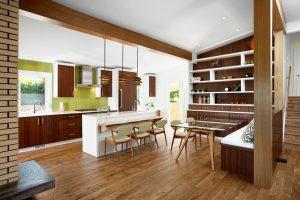 بازسازی داخلی با چوب