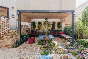 بازسازی داخلی خانه باغ