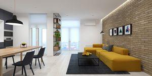 بازسازی داخلی خانه های مدرن