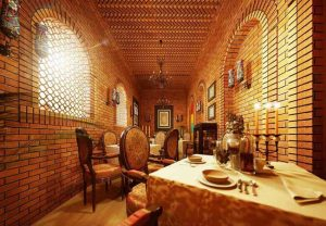 بازسازی داخلی رستوران سنتی