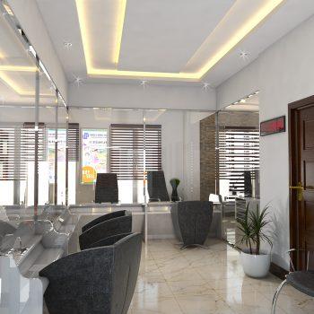 طراحی داخلی صرافی