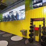 طراحی داخلی سالن های ورزشی
