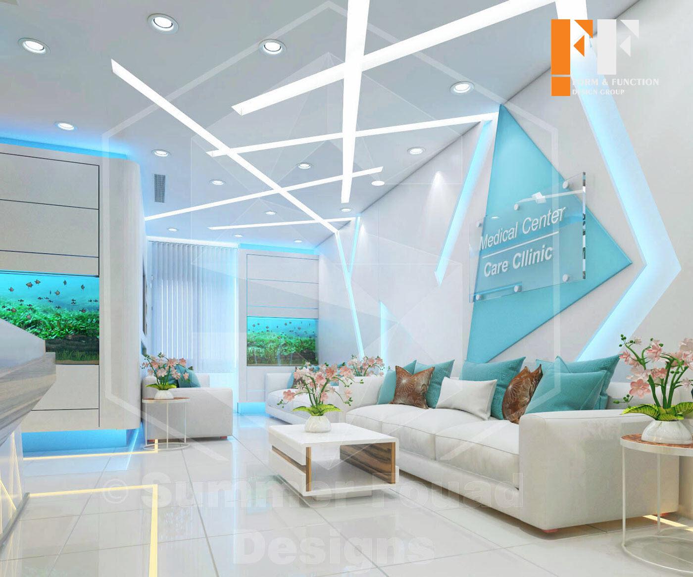 طراحی داخلی کلیینیک