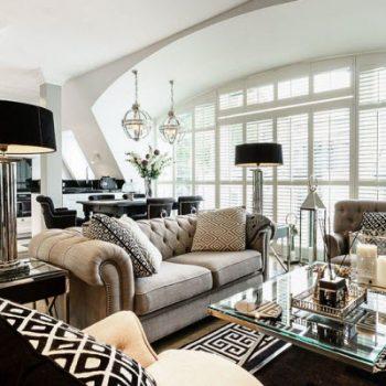 طراحی داخلی آپارتمان 90 متری