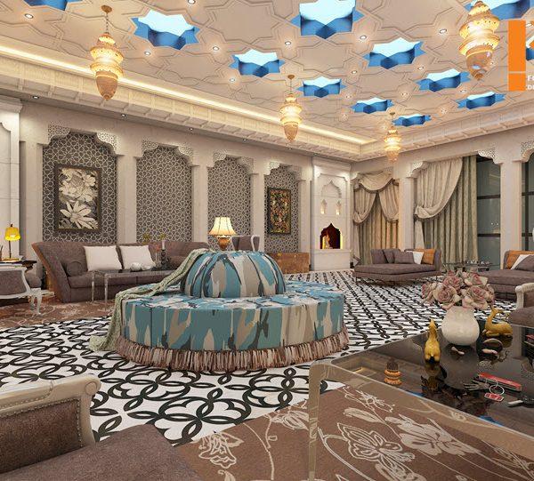 طراحی داخلی به سبک ثروتمندان عرب