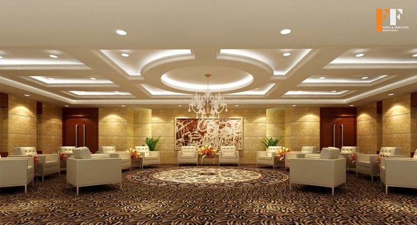 طراحی داخلی تالار