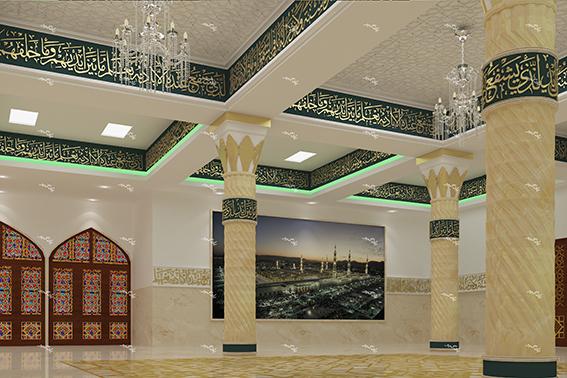 طراحی داخلی حسینیه