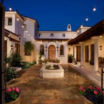 طراحی داخلی حیاط خانه