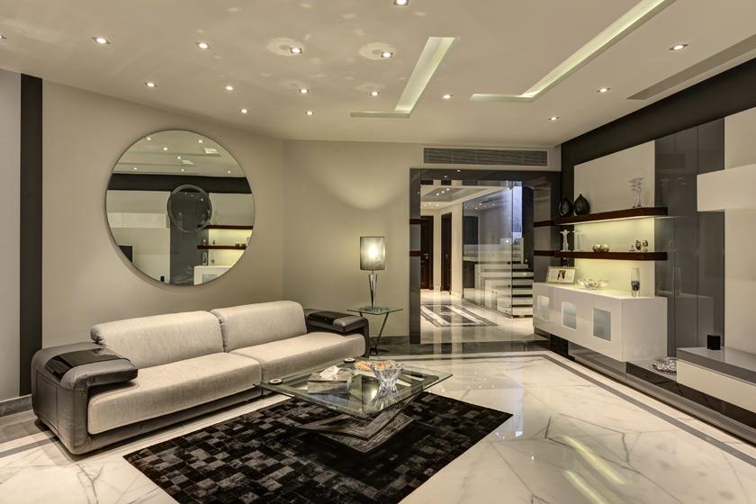 طراحی داخلی نشیمن و پذیرایی