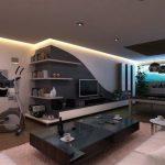 طراحی داخلی هال و پذیرایی