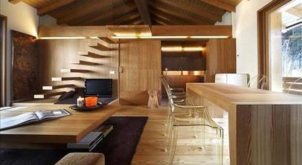 طراحی داخلی چوب