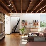 طراحی داخلی چوبی